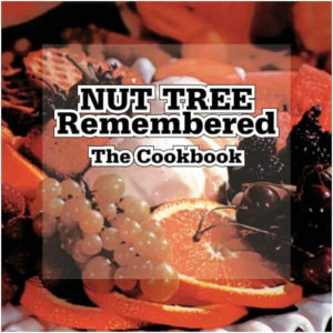 nut tree remembered cookbook