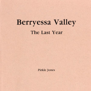 berryessa valley book