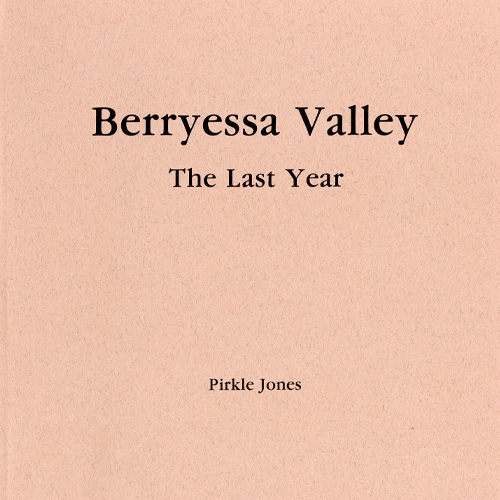 berryessa valley book