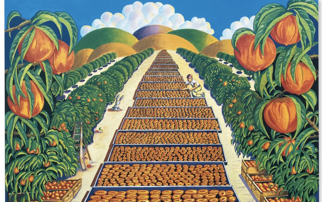 Solano's Gold, Peach Harvest Dinner